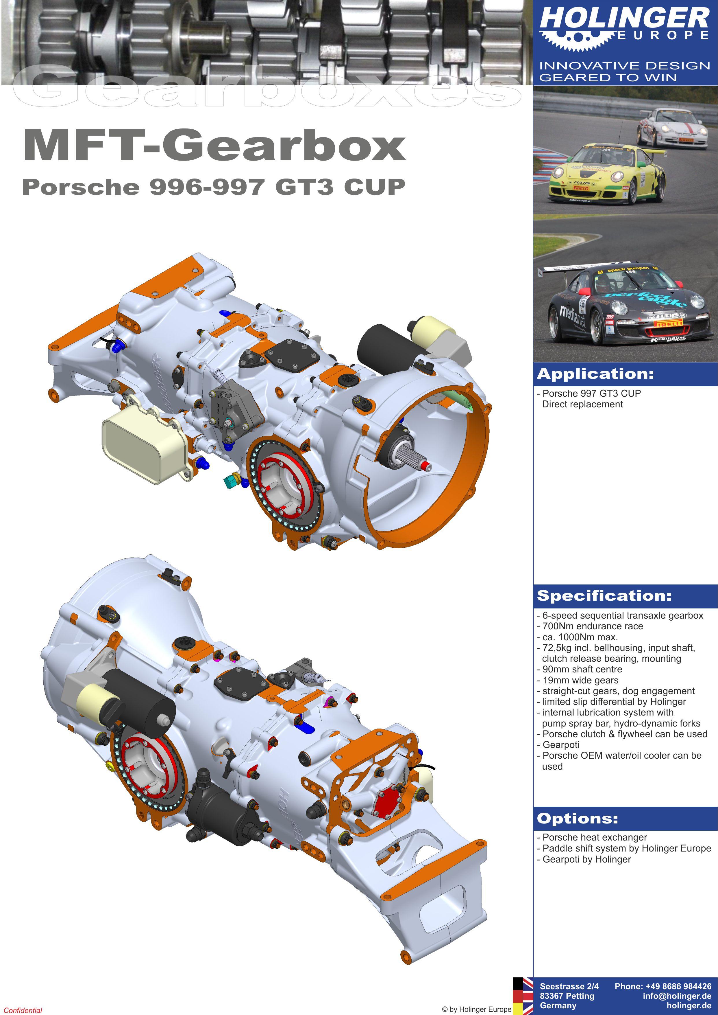 MFT Porsche 997 / 996